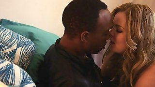 Jessica And Malcolm French Kissing