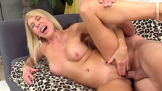Cock hungry old women enjoy taking thick and stiff dicks and getting fucked