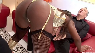 Amazing hardcore group action there Jasmine Webb and Lucie Love