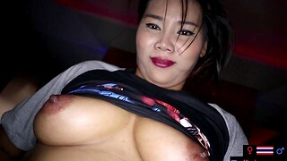 Amateur MILF sex massage with a customer
