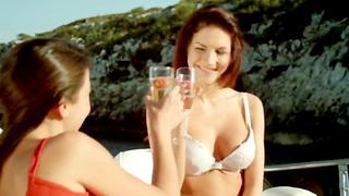 Erotic Lesbians Making Fun Love Not at home  Making Enjoyment