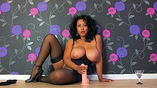 Dirty wife Danica Collins teaches regardless how she pleasures a large dick