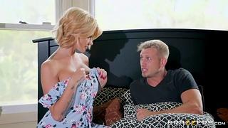 Hot mum Joslyn James seduces her adult stepson and fucks him like nobody else before