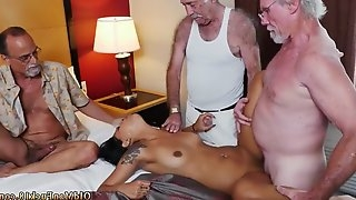 Old young bi and dirty man girl Staycation with a Latin Hottie